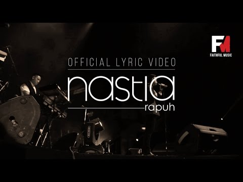Rapuh - Nastia Official Lyric Video OST Papa Ricky