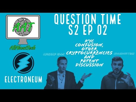 Electroneum Interview Part 2! KYC Confusion, Other Cryptos and Patent Protection!