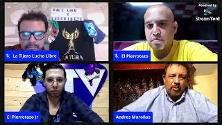 Recortando La Lucha: Andrés Maroñas. CMLL a la AAA - Dr. Morales y Rudo Rivera
