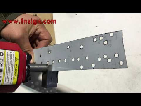 Professional Pneumatic puncher for metal hole punching