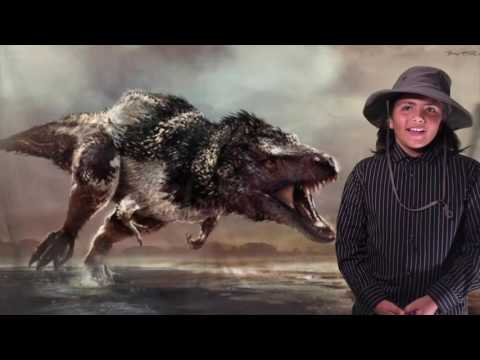 DIY Dilong Dinosaur 5th Grade Project Using a Green Screen