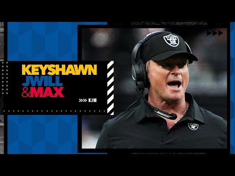 Reacting to Jon Gruden resigning as the Raiders' head coach | Keyshawn, JWill & Max