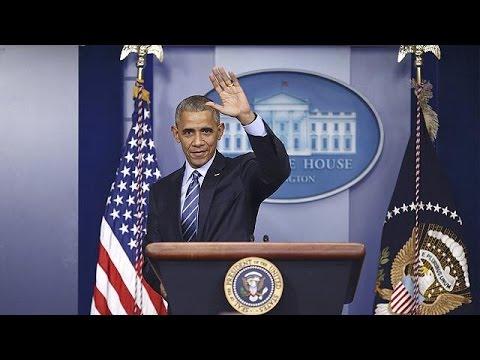 Барак Обама провел