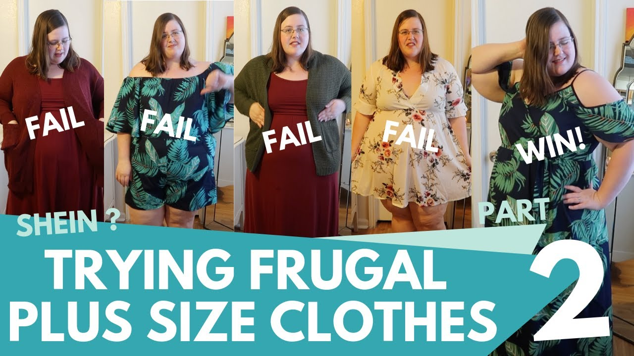 a4d1df0cf7d Frugal Shein Plus Size Summer Clothing FAIL (+Try on  Review  Haul ...