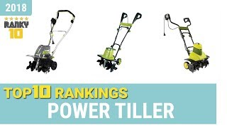 Best Power Tiller Top 10 Rankings, Review 2018 & Buying Guide