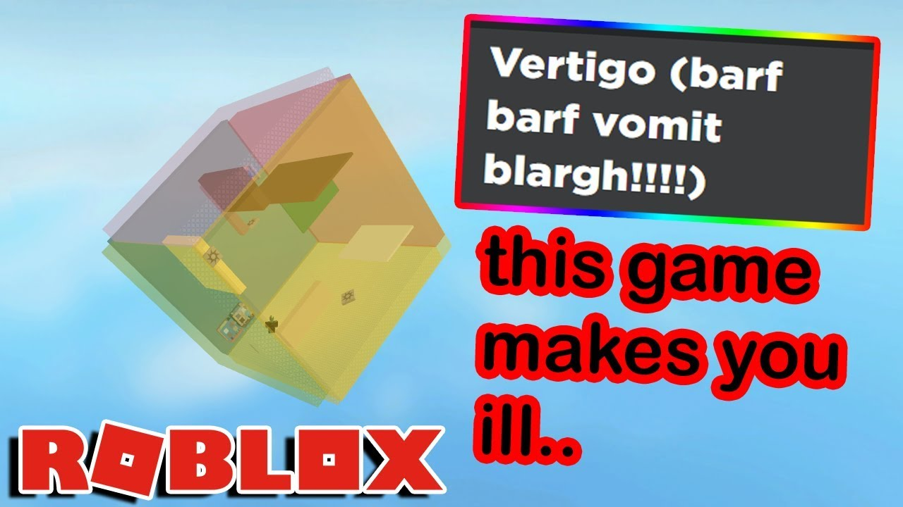 this old roblox game can LITERALLY MAKE YOU SICK (seriously)