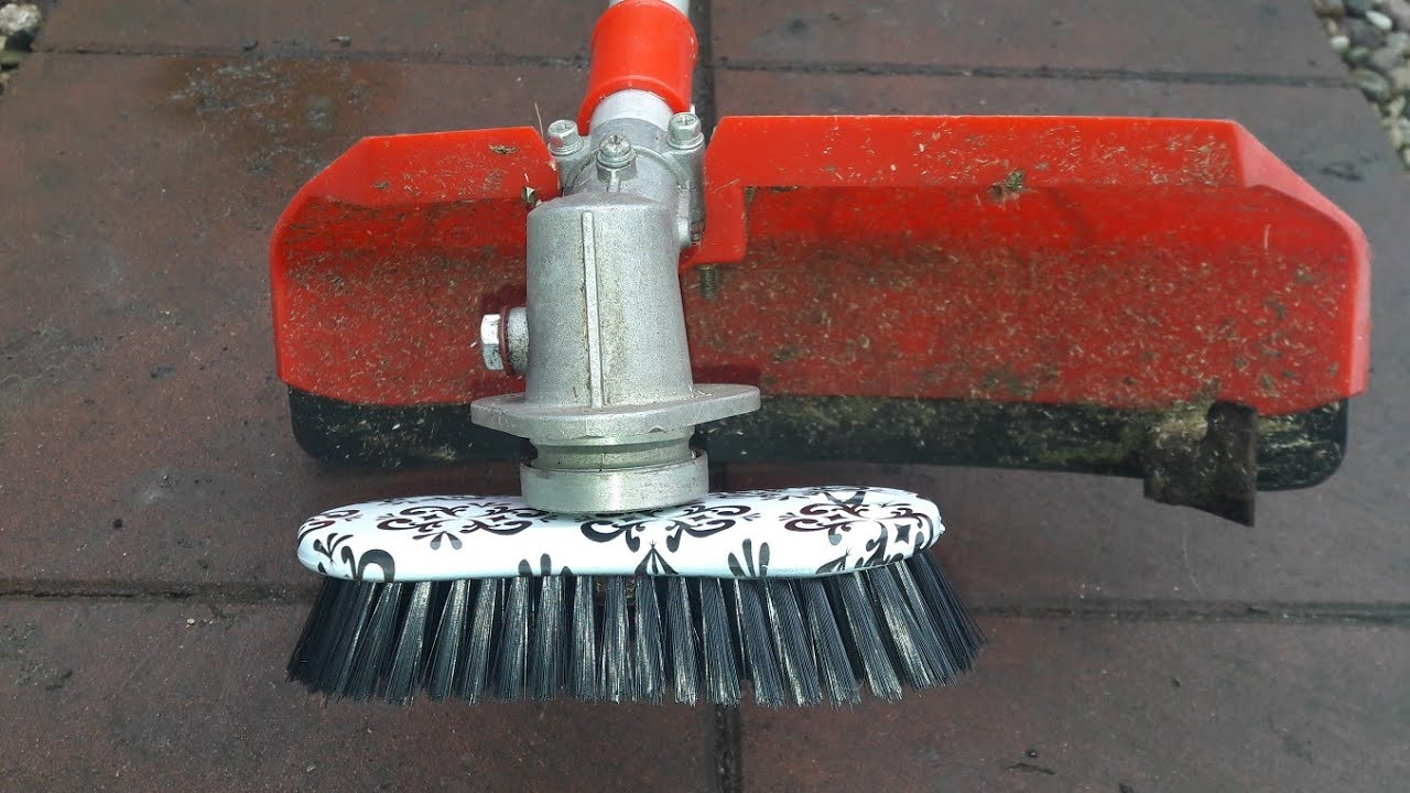 Brush For Cleaning Cubes Terraces For 3 Dollar Brushcutter Turbo Brush Youtube