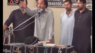 zakir manzoor hussain shah of kot addou majlis 27 muharam 2016 salana jalsa chak 107 s b sargodha