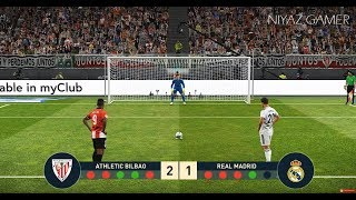 PES 2019 | ATHLETIC BILBAO vs REAL MADRID | Penalty Shootout | Gameplay PC