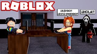 YOU CAN'T LOOK AT YOUR BACK! ✔️ CHALLENGE *VERY DIFFERENT* at FLEE THE FACILITY at ROBLOX 😱