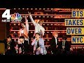 Cold Rain No Match for BTS Army Awaiting Central Park Show | NBC New York