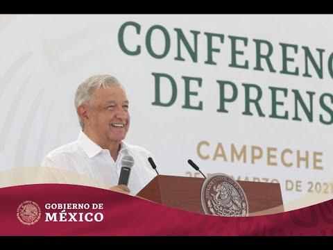 #ConferenciaPresidente | Jueves 25 de marzo de 2021