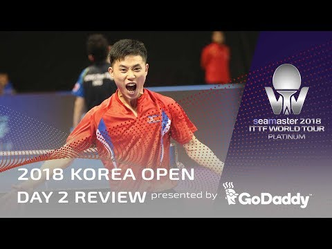 2018 Korea Open | Day 2 Review Presented by GoDaddy