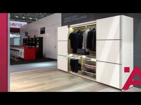 Armadi e cabine armadi h fele per la camera da letto interzum 2013 youtube - Tv in camera da letto ...