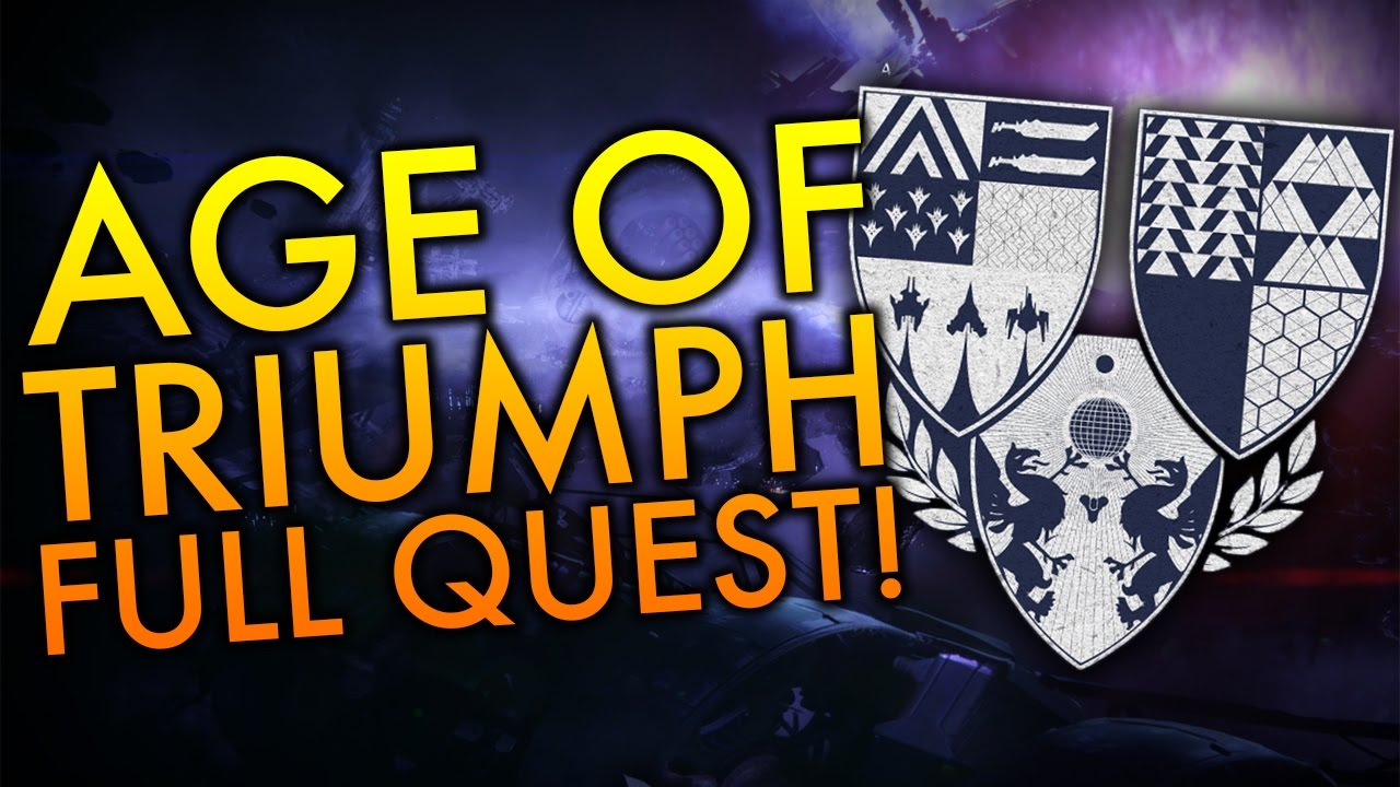 full age of triumph quest guide! chroma class item! - youtube
