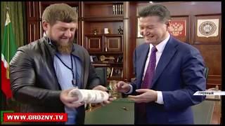 Рамзан  Кадыров обсудил с Кирсаном Илюмжиновым введение в школах занятий по обучению шахматам