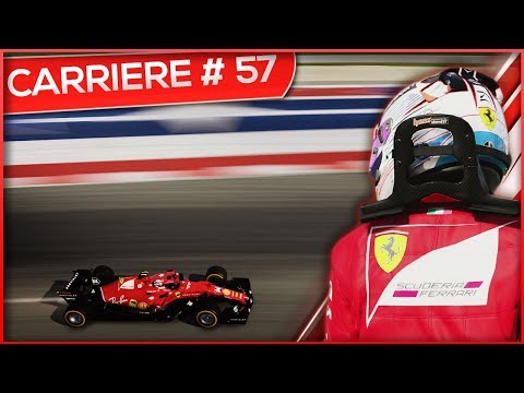 CONTACT ENTRE HAMILTON ET LES FERRARI ! - F1 2017 #57 (FR)