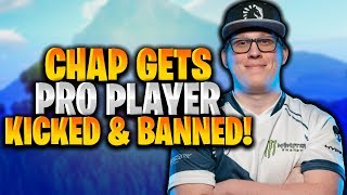 Chap EXPOSED This Pro Player For Stream Sniping! (HE GOT KICKED!)