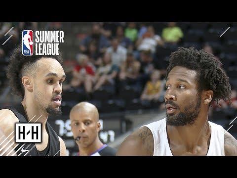Memphis Grizzlies vs San Antonio Spurs - Full Game Highlights   July 5   2018 NBA Summer League