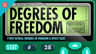 Degrees of Freedom and Effect Sizes: Crash Course Statistics #28