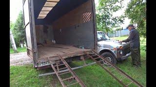Перевозка легкового АВТО в кузове ГАЗЕЛИ!