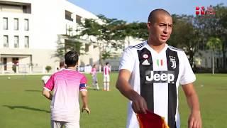 Full trận đấu từ thiện giữa  Huyền thoại Juventus David Trezeguet cùng đội bóng của Hoàng Bách
