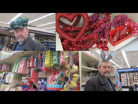 Big Lots: Valentine's Day, St. Patrick's Day & Easter Candy & Décor 2018