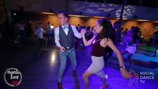 Anton Shcherbak & Natasha Chumakova - Salsa social dancing | Mambo.love 2018