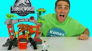 Imaginext Jurassic World Research Lab Playset !    Toy Review    Konas2002