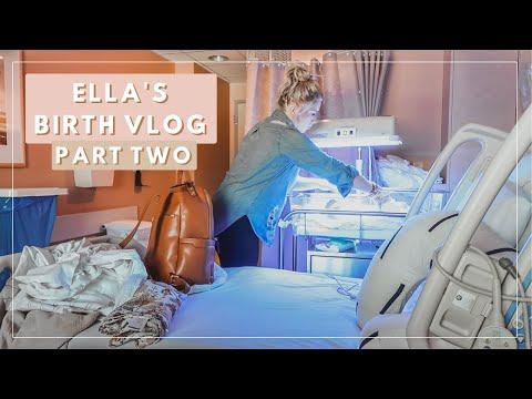 Birth Vlog 2019 | Postpartum