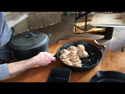 Download Youtube: The Complete CAST IRON COOKING Video -- cook + care for cast iron pans + homestead recipes