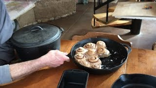 The Complete CAST IRON COOKING Video -- cook + care for cast iron pans + homestead recipes
