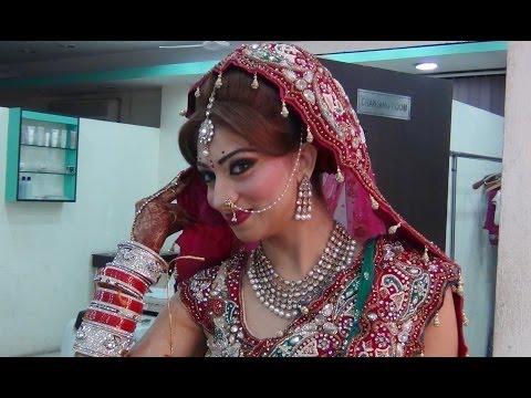 Indian Makeup - Peacock Inspired Bridal Look