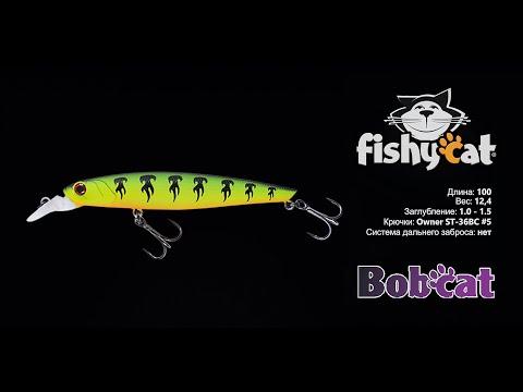 Fishycat Bobcat 100SP Описание/ Характеристики/ Анимация