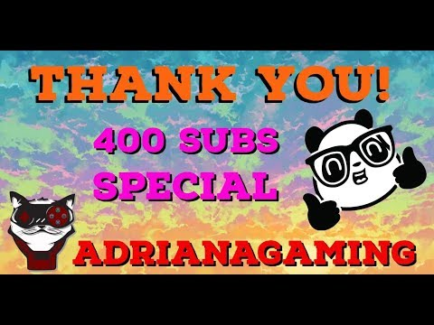 400 subs special : Panda time!!
