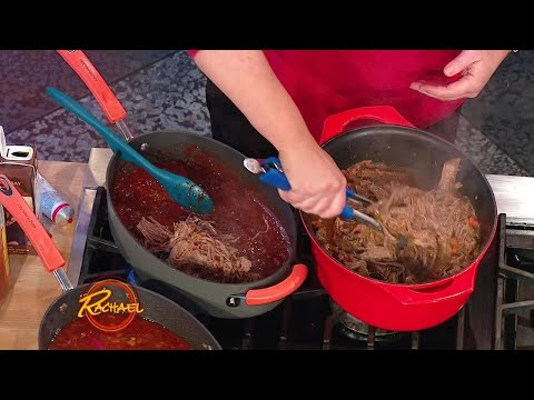 BBQ Beer Brisket For Tacos Or Sandwiches | Rachael Ray Show
