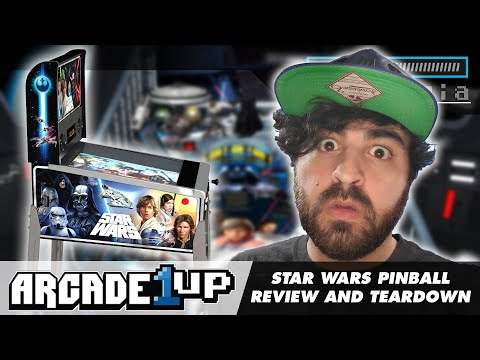 Arcade1UP Star Wars Pinball Review and Teardown from Restalgia