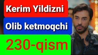 Qora Niyat 230 qism uzbek tilida turk filim кора ният 226 кисм