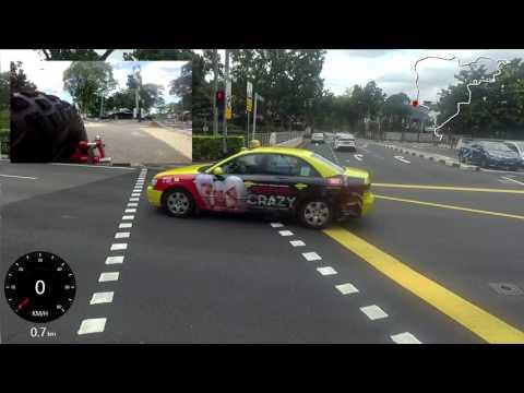Velocifero MAD Singapore 21.5Km Multi Cam Ride Orchard Sime Road Toa Payoh Orchard