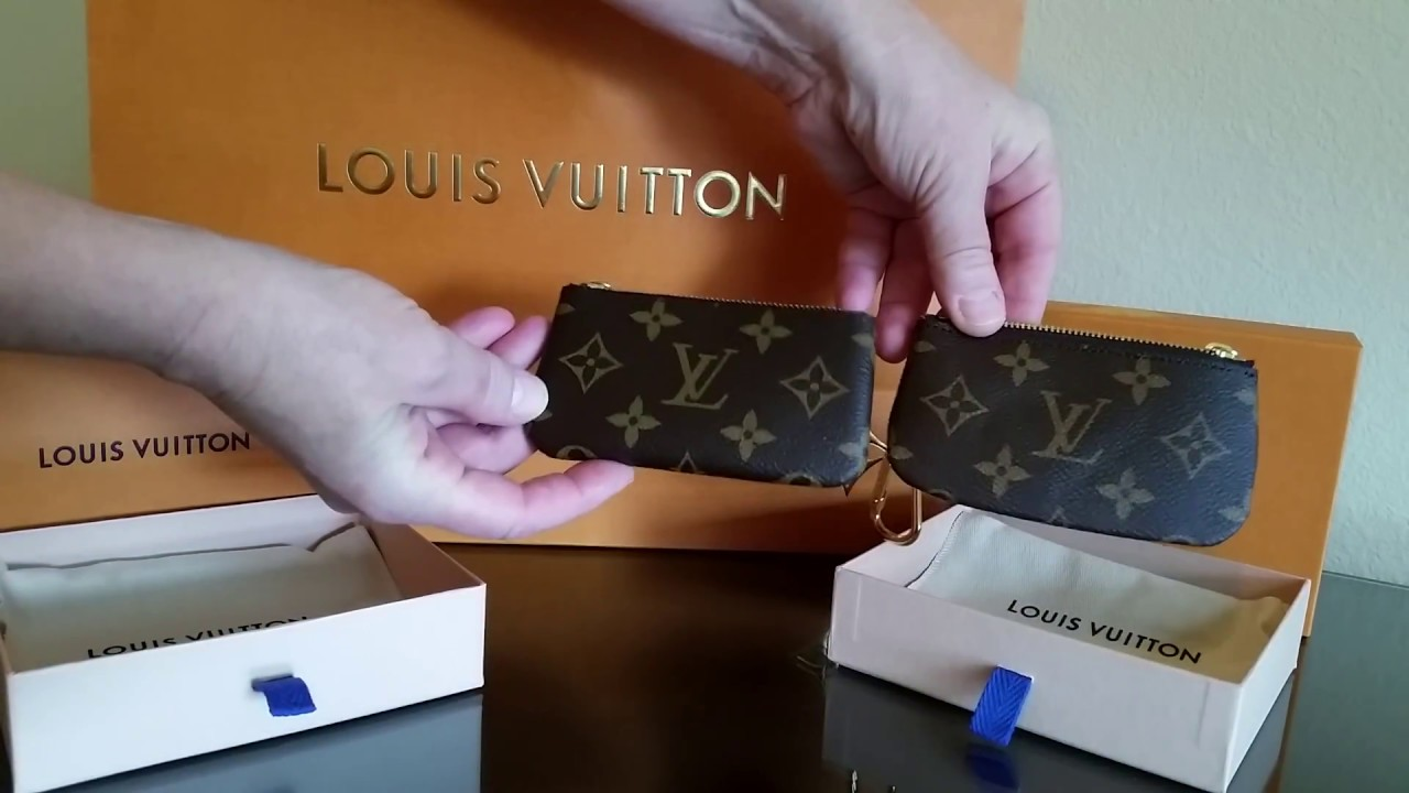 Images For Louis Vuitton Made In France >> Louis Vuitton Review Key Pouch Made In France Vs Made In Usa Visible Differences In Quality