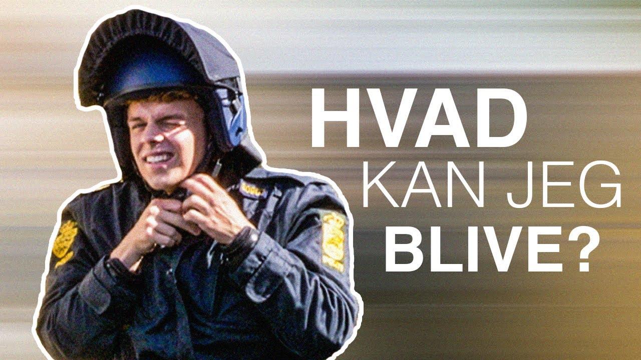 Hvad kan jeg blive? Politibetjent - YouTube