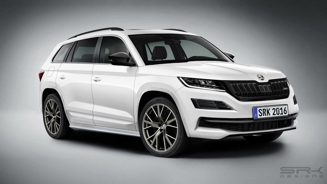 skoda kodiaq vrs rendering timelapse srk designs. Black Bedroom Furniture Sets. Home Design Ideas