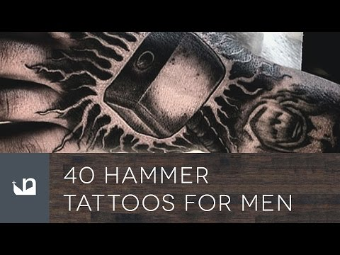 40 Hammer Tattoos For Men