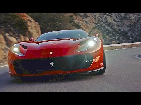 Ferrari 812 Superfast (2017) Features, Driving, Design [YOUCAR]