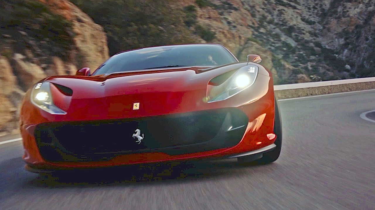 meet the new ferrari 812 superfast. Black Bedroom Furniture Sets. Home Design Ideas