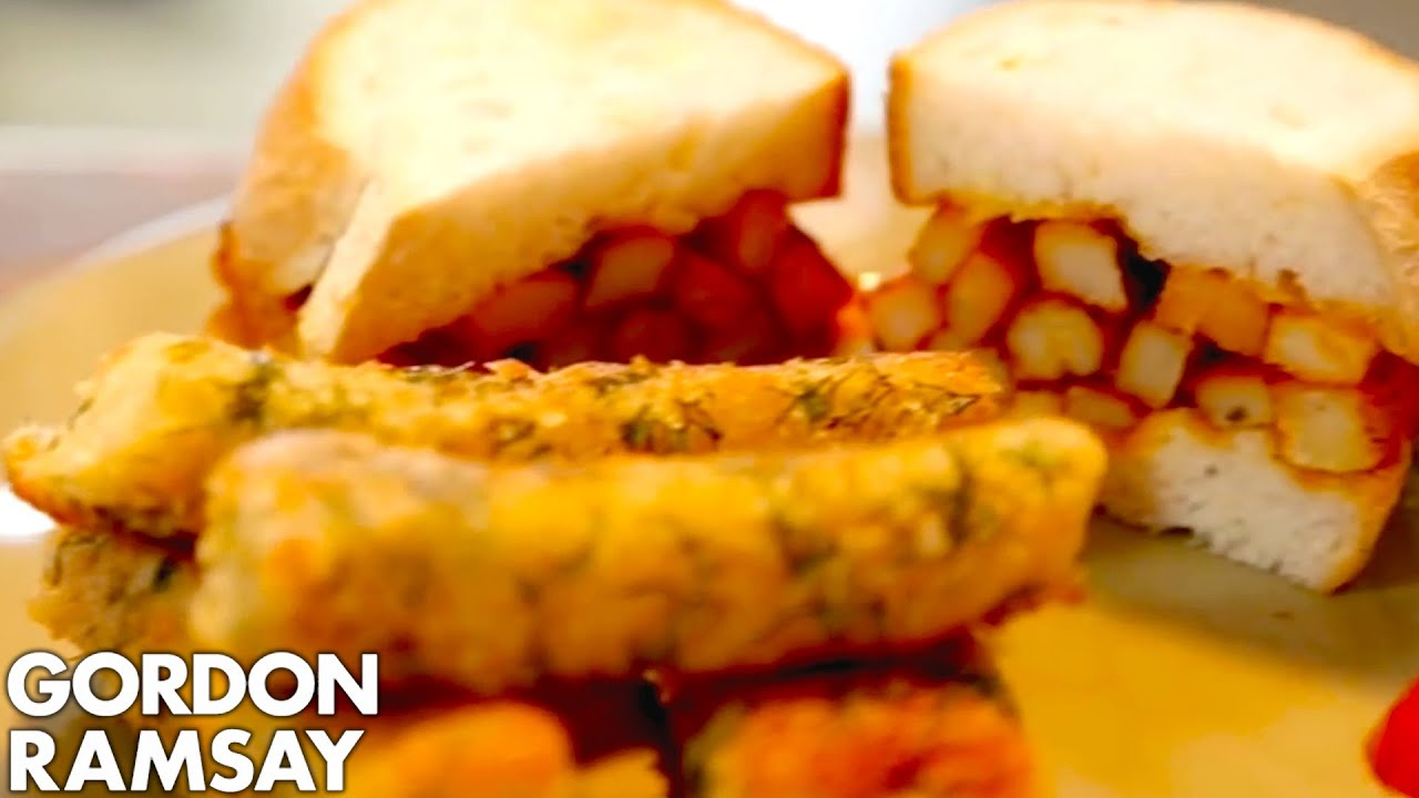gordon ramsay s recipes for a better school lunch doovi. Black Bedroom Furniture Sets. Home Design Ideas