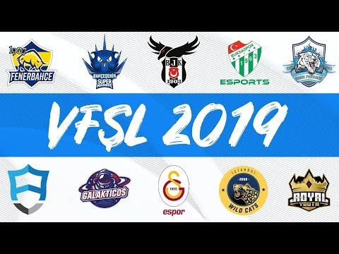 DP vs RYL  GAL vs GS  BJK vs SUP  IW vs FB  BUR vs AUR - VFŞL 2019 Yaz Mevsimi 3 Hafta 1 Gün