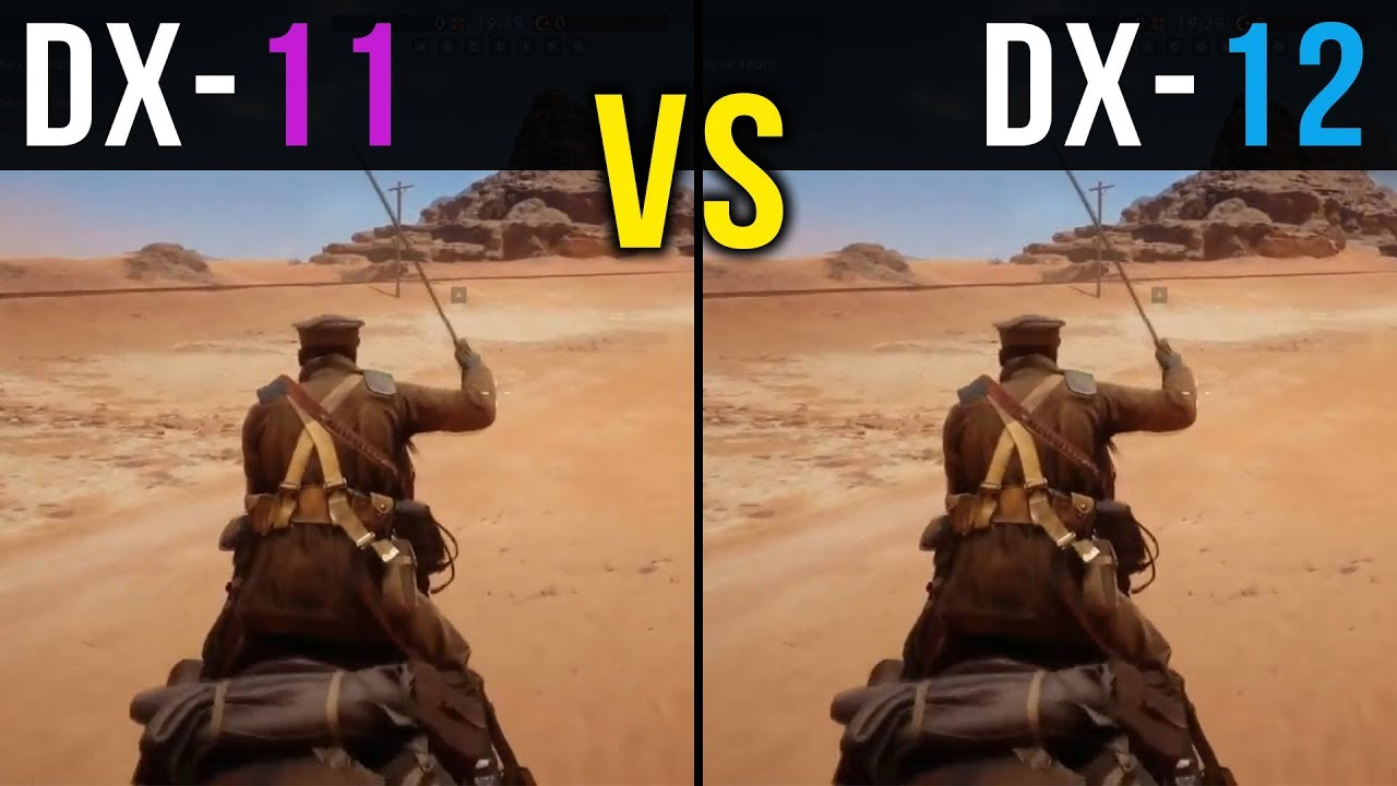 DirectX 11 vs  DirectX 12 | Battlefield 1 & Rise of the Tomb Radier @ 1440p  | GTX 1070 |