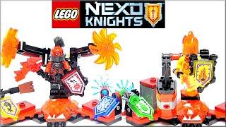 LEGO Nexo Knights 70338 Ultimate Генерал Магмар, 70339 Флама Абсолютная сила Обзор. Лего Нексо Найтс