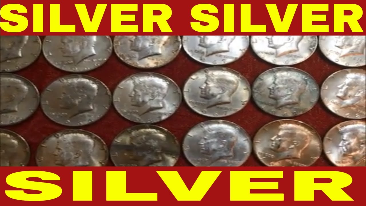 OUR BIGGEST SILVER SCORE SO FAR! COIN ROLL HUNTING COIN BAG FROM OUR BANK